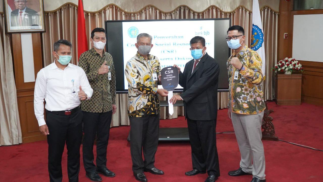 bank bjb Serahkan Dukungan CSR kepada IPDN - KREATOR KARAWANG