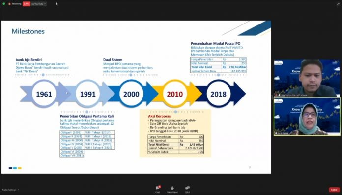 Resilien Sepanjang 2020, bank bjb Targetkan Tumbuh Positif ...